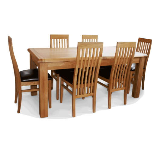 Coventry oak table and chairs