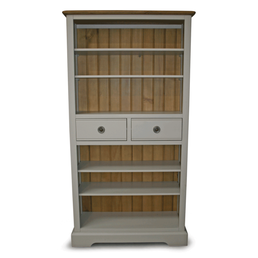 Charlotte painted bookcase