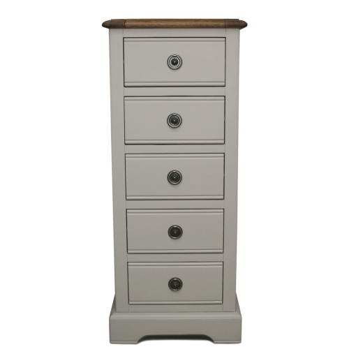 Charlotte tallboy chest of drawers