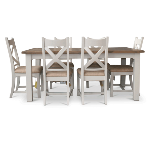 Dorset Extending Table 6 Chairs