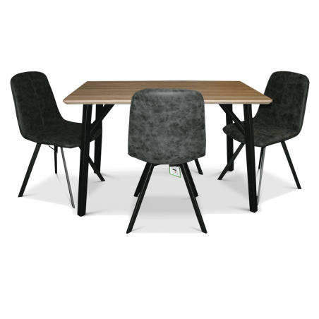 Mizen Dining Table & 4 Chairs