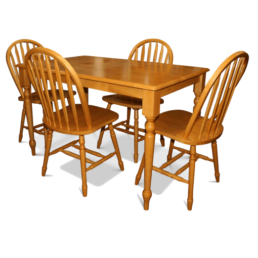 Vienna Dining Table & 4 Chairs