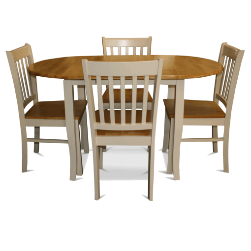 Tamesa Dining Table & 4 Chairs