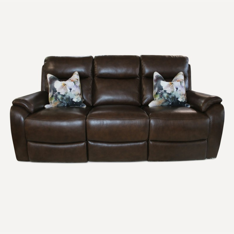 Sardinia leather sofa