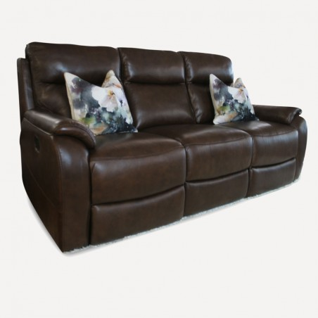 Sardinin leather sofa