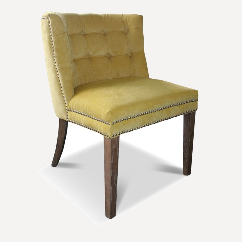 Lily yellow chair