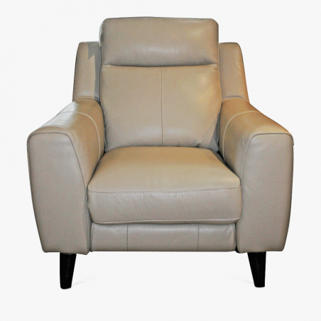 recliner leather armchair
